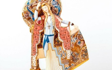 Large Minton Figurine, Guinevere and The Tree of Life