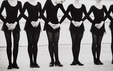Martine Franck, Rehearsal, Ballet Moisseev, Moscow, Russia