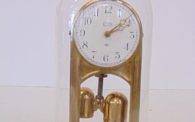 Tiffany Never Wind Domed Clock, tested and running at