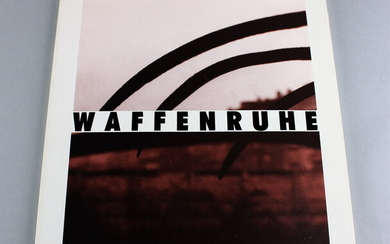 Waffenruhe photographer Michael Schmidt, first edition, published by Dirk Nishen...