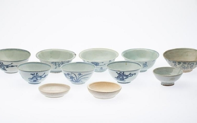 11 Pieces of South East Asian Pottery