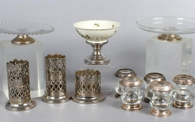 (11) Sterling and Plate Table Items