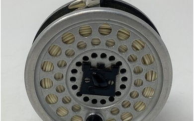A Hardy Marquis 5 fishing reel, in an associated soft case