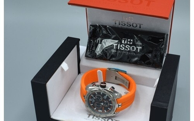 A Tissot PRS 330 Tony Parker Limited Edition Stainless Steel...