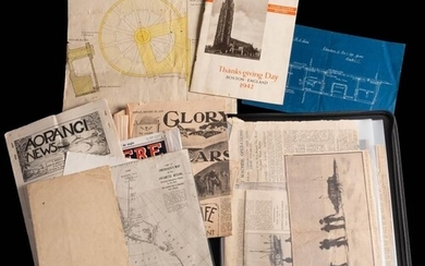 A collection of newspaper cuttings relating to the British A...
