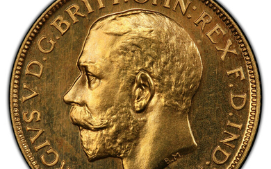 Great Britain: , George V gold Proof Sovereign 1911 PR65 PCGS,...