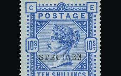 Great Britain - QV (surface printed) : (SG 177as) 1883-84 10...