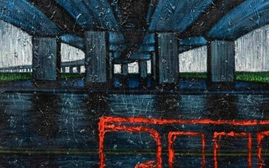 Lu Hsien-Ming (Taiwanese, b. 1959) Bus Under the