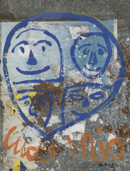 Mimmo ROTELLA (1918-2006) Cuore Mio Affiches... - Lot 79 - Oger - Blanchet