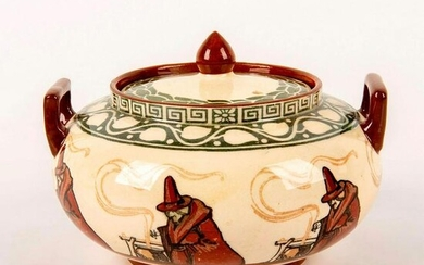 Royal Doulton Series Ware Covered Sugar Bowl, Witches