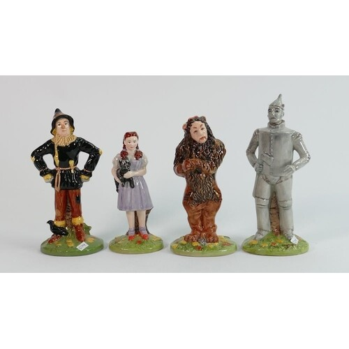 Royal Doulton character figures The Wizard of Oz: comprising...