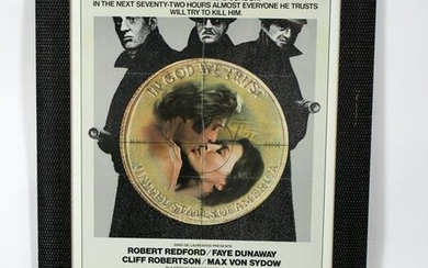 """Vintage """"3 day of the Condor"""" movie poster"""