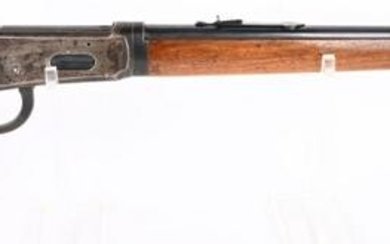 WINCHESTER MODEL 55 LEVER ACTION RIFLE