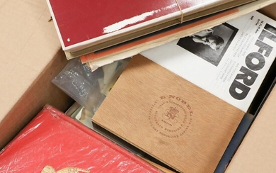 NOT SOLD. World. Mixed lot in a box incl. older approval books, the Kofoed book with reprints and much more – Bruun Rasmussen Auctioneers of Fine Art
