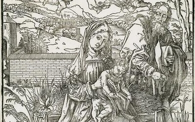 ALBRECHT DÜRER The Holy Family with the Three