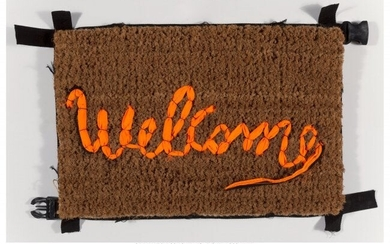 Banksy X Love Welcomes Welcome Mat, 2019 Life ve