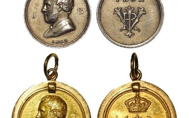 British Commemorative Medalets (2): Commissioned by Queen Vi...