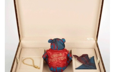 Louis Vuitton Pudsey Bear in LV travel case (One off edition...