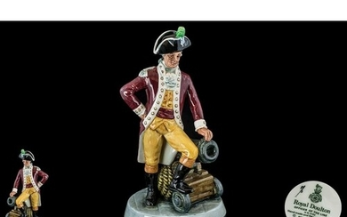 Royal Doulton Hand Painted Porcelain Figure ' Officer of The...