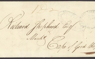 "South African Maritime Mail from 1677 The ""Joachim"" Collection The Second British Occupation Ca..."