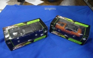 The Fast and The Furious; An Ertl RC2 Joyride 1:18 scale die...