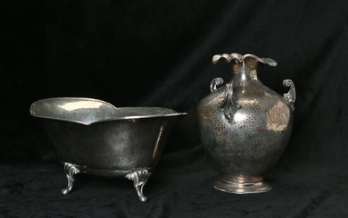 Two Norwegian .830 and .800 Silver Table Articles
