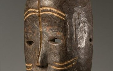 Wooden Face Mask, Ngombe People, DR Congo
