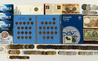 World and Ancient: Coin and Currency Assortment