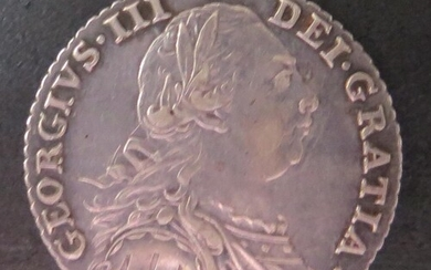 A George III Silver Shilling 1787