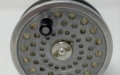 A Hardy's Marquis 7 fishing reel, in a soft case