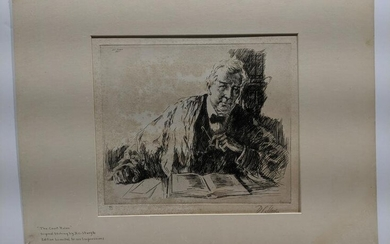 DC Sturgis The Court Rules 86/100 Original Etching