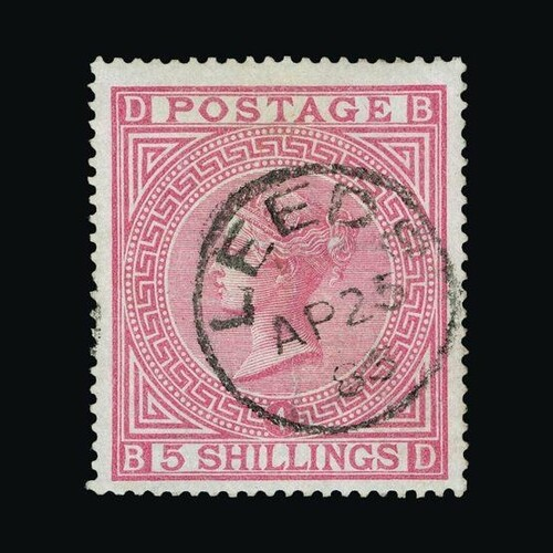 Great Britain - QV (surface printed) : (SG 134) 1867-83 wmk ...