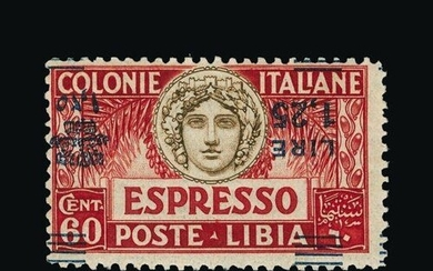 Italy - Colonies - Libya : (SG E64a) 1927 EXPRESS LETTER 1l....