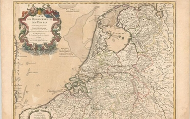 MAP, Low Countries, Delisle