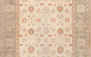 MODERN EGYPTIAN CARPET OF A SULTANABAD DESIGN. 16 ft x 11 ft 10 in (4.88 m x 3.61 m)