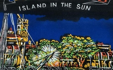 Painted Felt Tapestry of Barbados