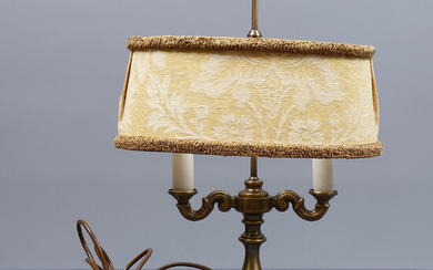 """TABLE LAMP, so-called """"bouillotte"""", marked EB, Sweden, second half of the 20th century."""