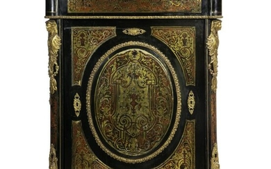 A Napoleon III boulle style cabinet