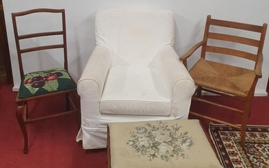 A good group of 19th Century and later Furniture.