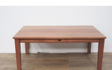 A modern Westland beechwood Dining Table, 5ft 11in x 3ft 3in...