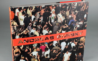 Andreas Gursky, first edition, published by Hatje Cantz / Germany...