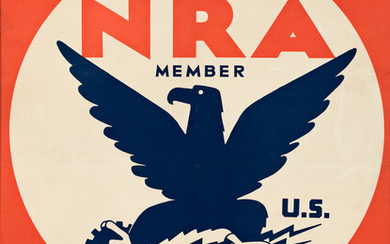 CHARLES COINER (1898 1989) NRA MEMBER WE DO OUR PART Circa