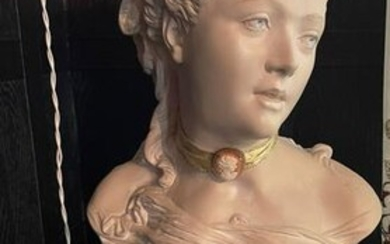 Ceramic Bust of a Woman