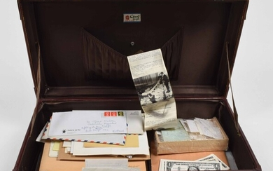 Dr. Ecolari's Cabinet, archive in a suitcase