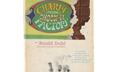 """First American Edition """"Charlie and the Chocolate Factory"""" by Roald Dahl, 1964"""