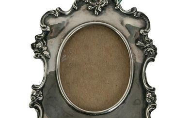 Gorham Sterling Silver Antique Photo Picture Frame