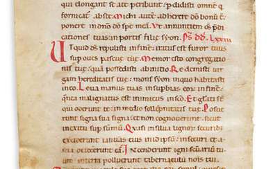 Manuscript Leaves Two Early Examples