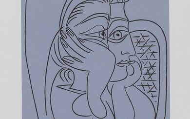 NUMBERED PRINT PABLO PICASSO