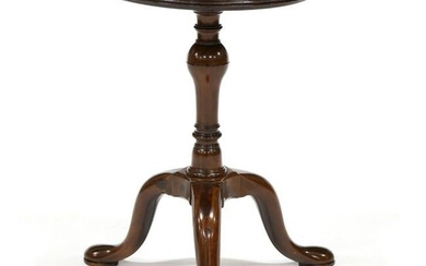 Queen Anne Mahogany Wine Table