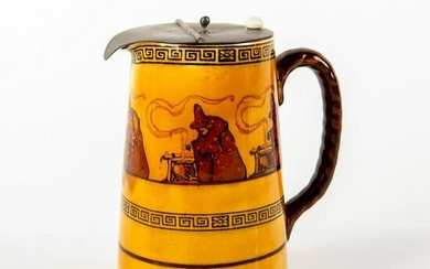 Royal Doulton Series Ware Lidded Pitcher, Witches D2735